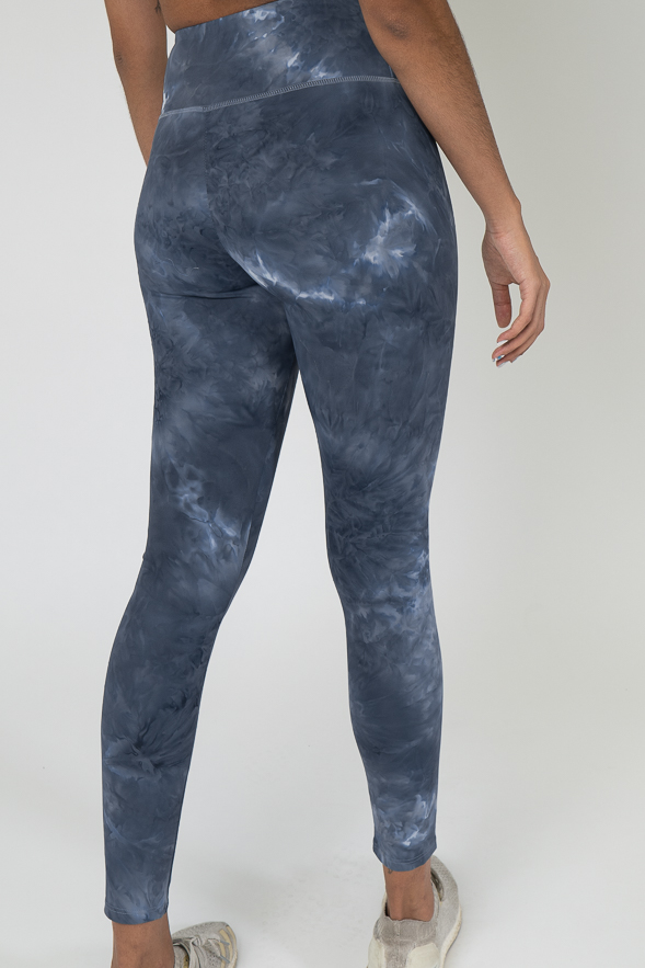 Midnight blue washed out leggings